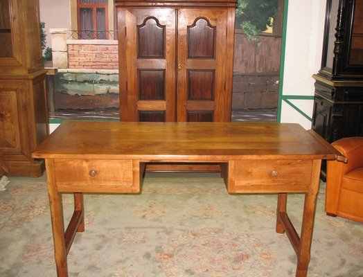 bureau antique en merisier