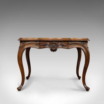 table de salle a manger style louis xv antique en noyer france