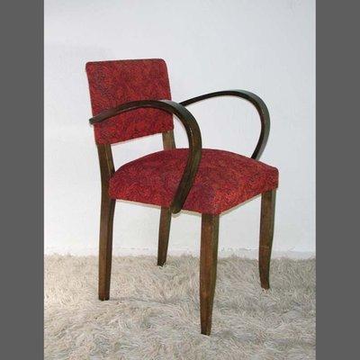 fauteuil art deco avec accoudoirs arques allemagne 1930s