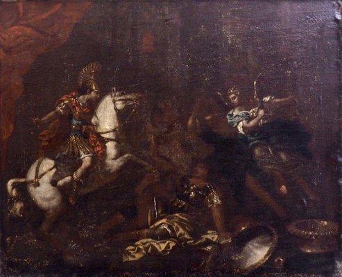 peinture 17eme siecle huile sur toile italie