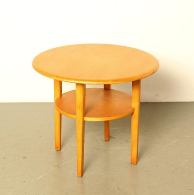 vintage 2 level side table