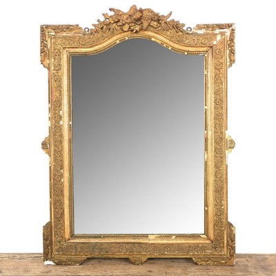 miroir antique napoleon iii dore france