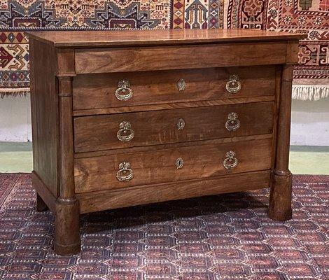 19th century empire cherrywood dresser
