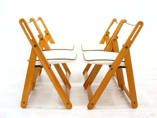 chaises pliantes de ikea 1980s set de 4