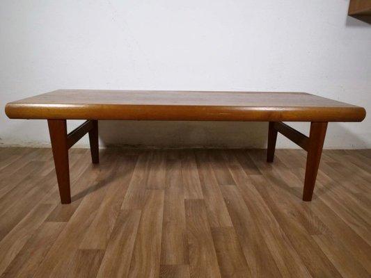 mid century danish teak coffee table 1960s