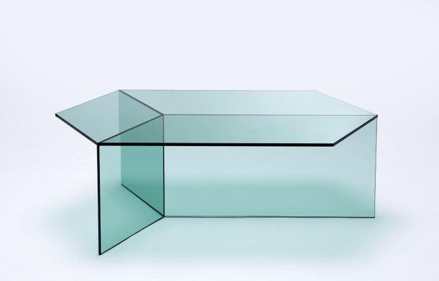 clear glass isom oblong coffee table sebastian scherer
