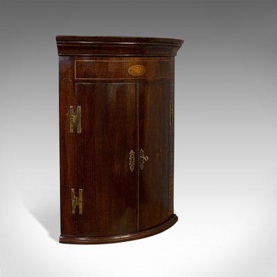 meuble d angle antique en acajou angleterre