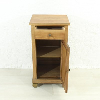 antique cherry wood nightstands 1920