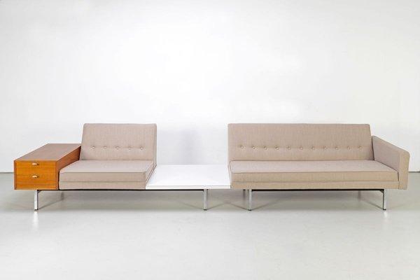 mobilier de salon modulable par george nelson pour herman miller 1960s set de 3