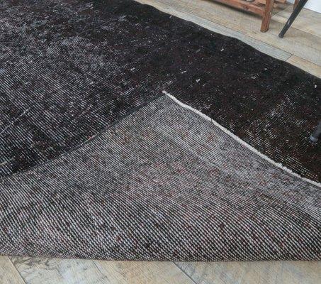 tapis de cuisine vintage fait main en laine turquie