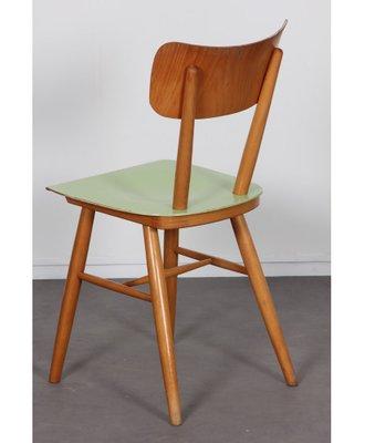 sedie regista cattie una magnifica coppia di sedie da regista cattie originali degli anni sessanta, realizzate in legno e dotate di seduta e di spalliera in stoffa telata. Sedie Vintage In Legno Di Ton Anni 60 Set Di 2 In Vendita Su Pamono