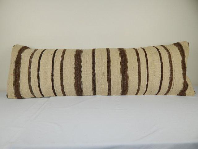 extra long turkish hemp bedding kilim cushion cover