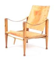 Safari Stuhl von Kaare Klint für Rud Rasmussen, 1960er bei ...
