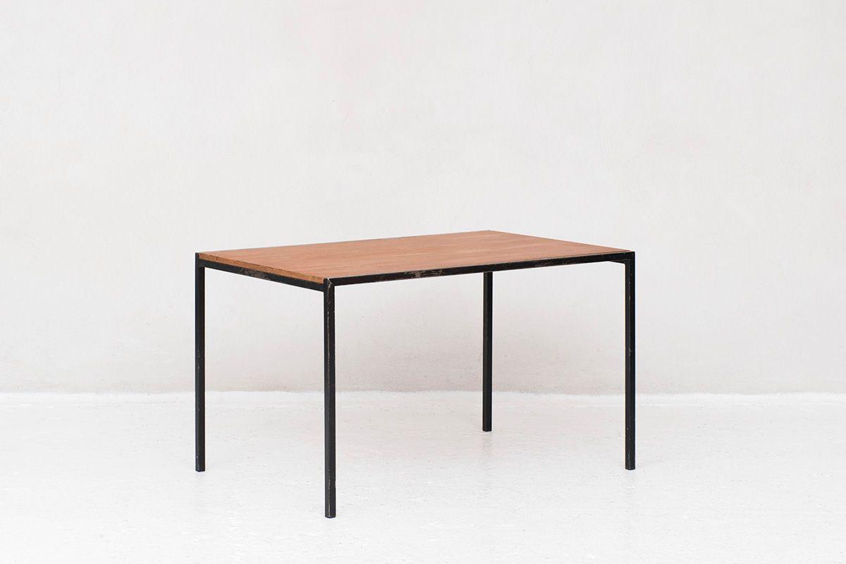 table de salle a manger tu 11 par cees braakman pour pastoe pays bas 1960s
