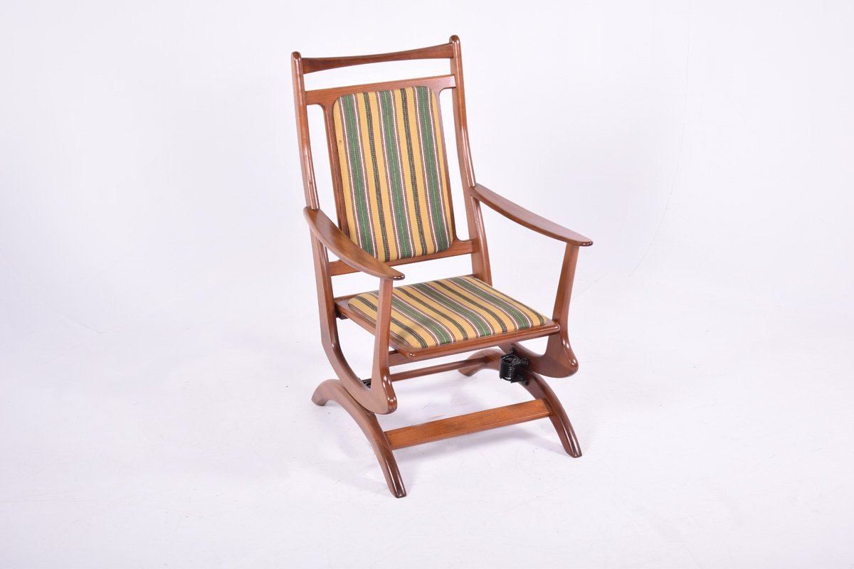 Danish Teak Rocking Chair 1950s For Sale At Pamono