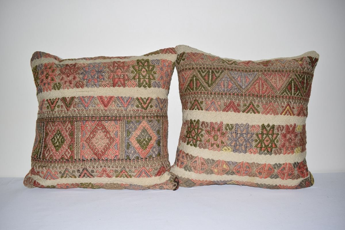 turkish square pillow covers from vintage pillow store contemporary set of 2