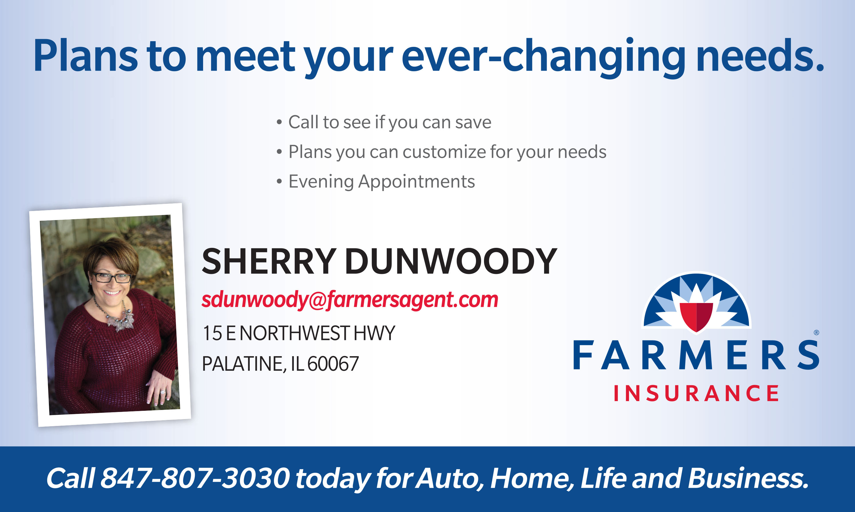 Sherry Dunwoody's Farmer's Insurance