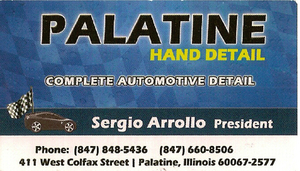 Palatine Hand Detail on Colfax