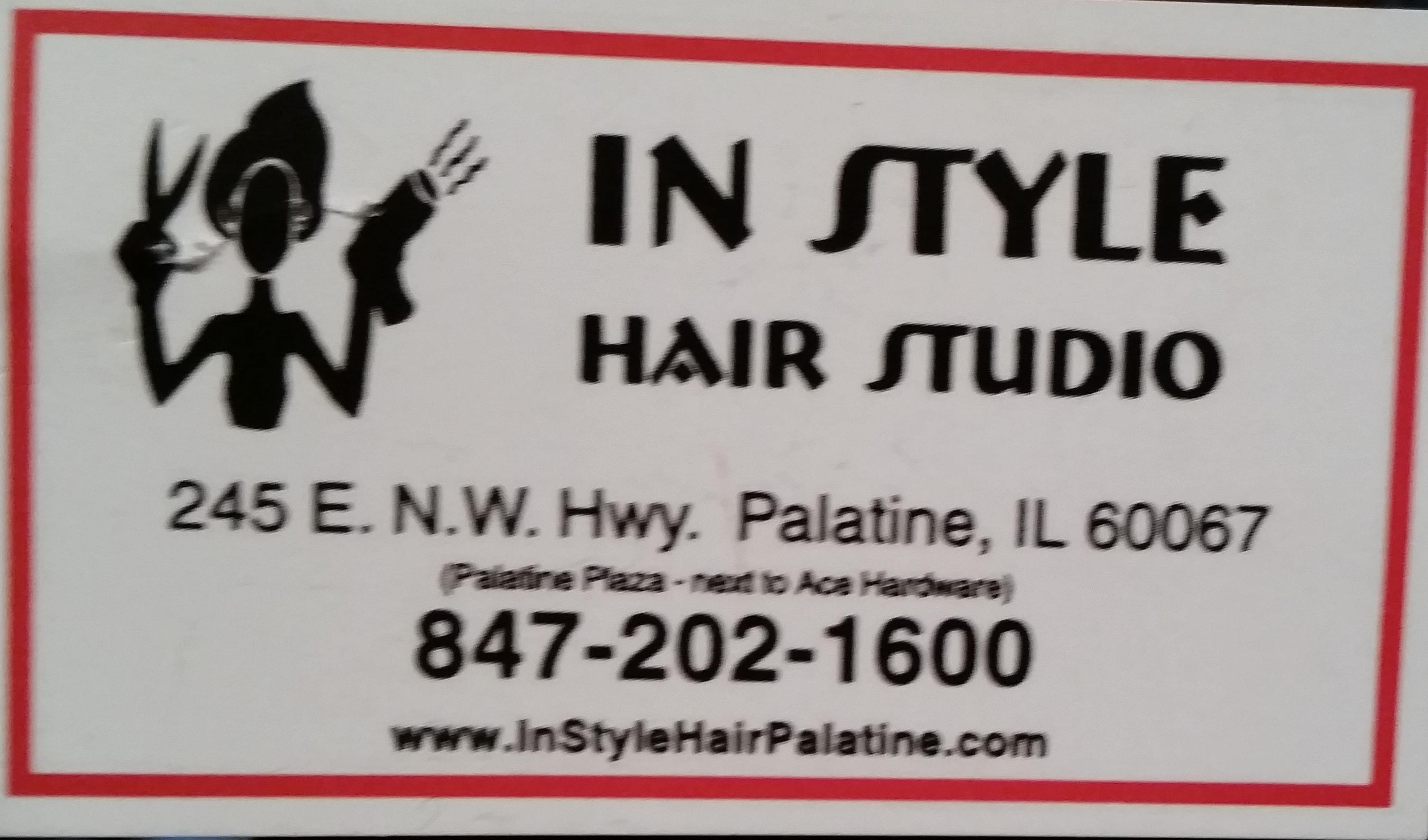In Style Studio Palatine Plaza