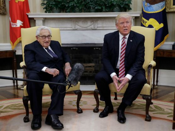 Image result for Henry Kissinger Delivered Outstanding Compliment to Trump