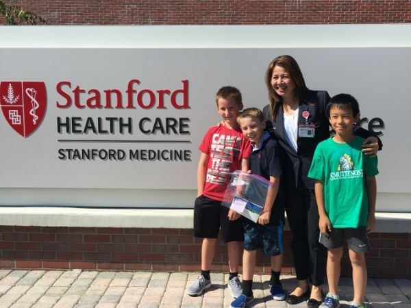 Students Raise Money For Stanford Health Care - ValleyCare ...