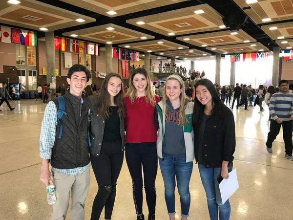 Greenwich High School Students Participate In Unity Rally ...