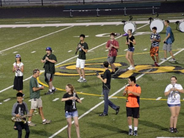 Eighth Graders Introduced to GBN Marching Band ...