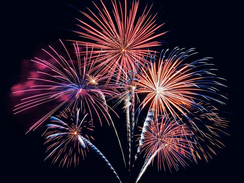 Hd Happy Fireworks Gif New Year
