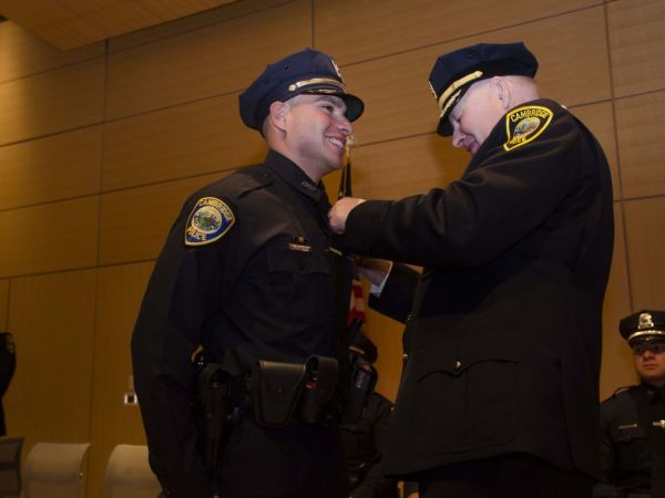 Cambridge Police Welcome 9 New Officers - Cambridge, MA Patch