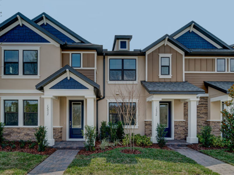 MI Homes Townhome Model At Starkey Ranch Now Open Tampa