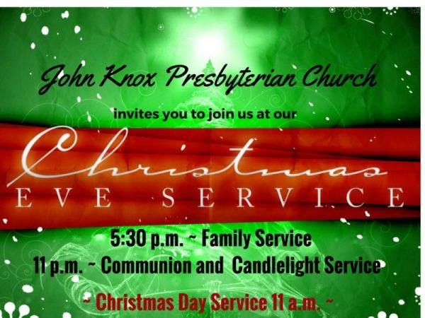 Christmas Eve and Christmas Morning Church Services at ...