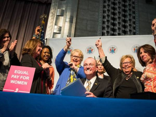 NJ Gov. Phil Murphy Signs Strongest Equal Pay Bill In US ...