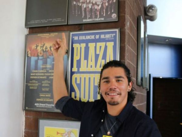 Panas Grad Headed To Broadway Visits the District ...