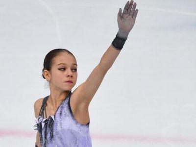 Трусова выступит первой в короткой программе фигуристок на ЧР