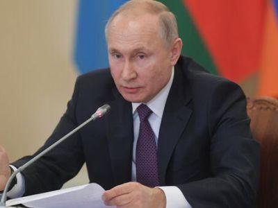 Путин в среду проведет совет по стратегическому развитию и нацпроектам