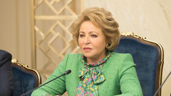 Матвиенко поддержала идею увольнения чиновников за оскорбление граждан