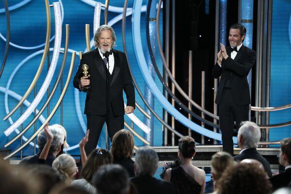 Актер Джефф Бриджес удостоится почетной награды Сесила Демилля в рамках церемонии вручения премии Золотой глобус. 6 января 2019