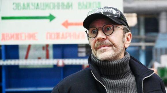 The leader of the musical group Leningrad Sergey Shnurov in the Volgodonsk branch of Atommash AEM-technology CJSC
