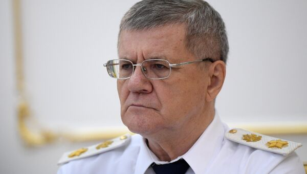Prosecutor General of the Russian Federation Yuri Chaika. Archive photo
