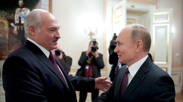Новые встречи Путина и Лукашенко до Нового года проводить не планируют