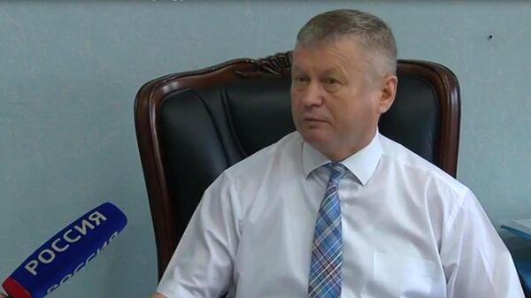 Глава Ширинского района Хакасии Сергей Зайцев
