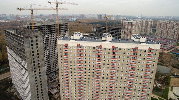 Строительство новых жилых кварталов в Подмосковье