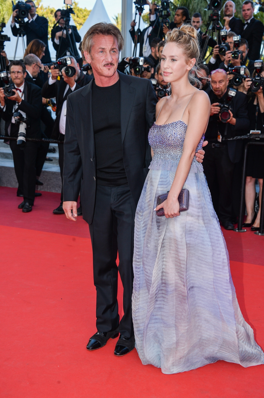 Sean Penn Et Sa Fille Dylan Penn Cannes 2016 Toute La