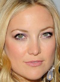 Kate Hudson pastel makeup