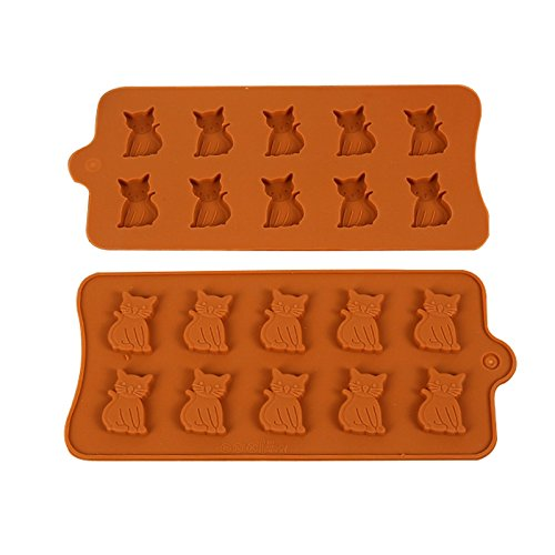 Cat-Shaped Mold For Treats, Ice Cubes, Or Jello Shots