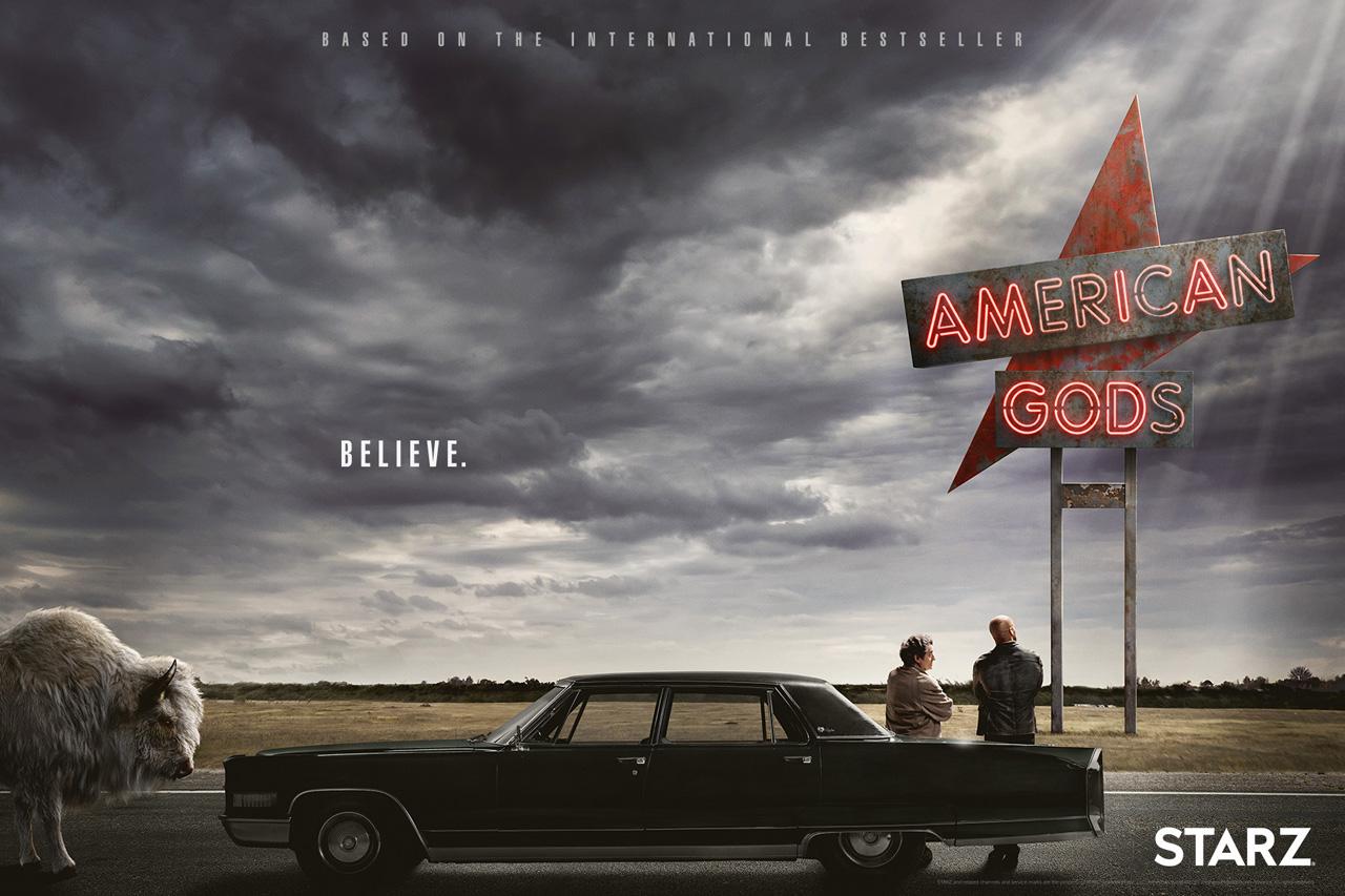 """Vaizdo rezultatas pagal užklausą """"American Gods"""""""