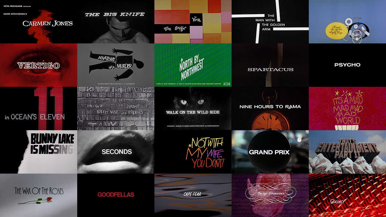 Image result for saul bass titles