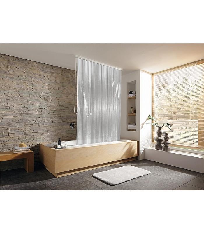 rideau de douche roulant design banyo