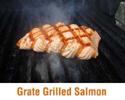 Grate Grilled Salmon