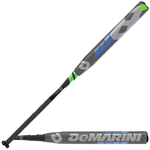 Green And White Softball Bat